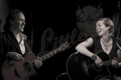 Anneke van Giersbergen és Danny Cavanagh