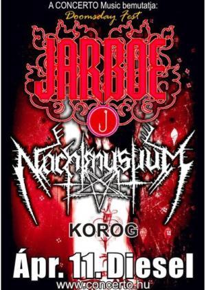 Jarboe Nachtmystium plakát