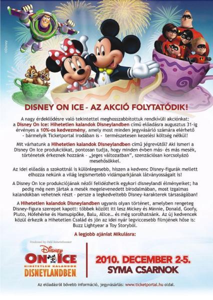 Disney Hírlevél