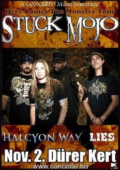 Stuck Mojo flyer