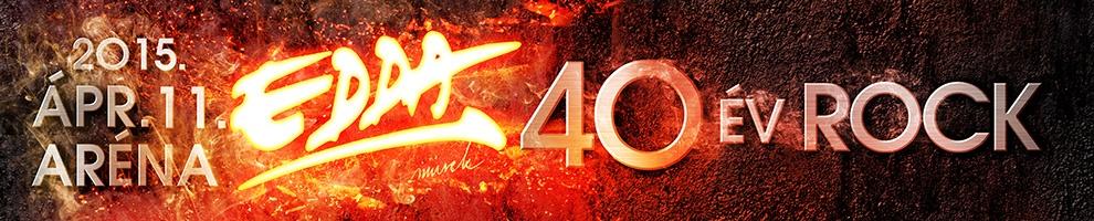 Edda - 40 év rock