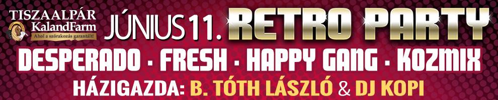 II. Retro Party