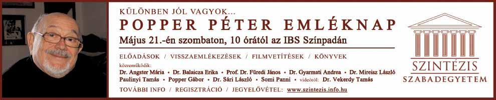 Popper Péter emléknap