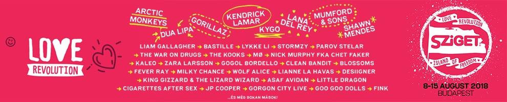 Sziget Fesztivál 2018